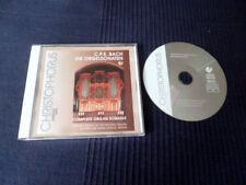CD Organ Sonatas Orgue CPE BACH Mingend-Orgel Princess Anna Amalia BERLIN