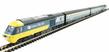 Multi-Coloured N Scale Model Trains