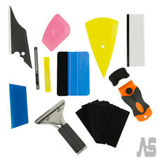 8x Squeegee Car Window Tint Auto Film Wrapping Install Applicator Tools Kit DIY