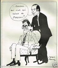 Publicité advertising 1975 Dessin signé Jacques Charmoz