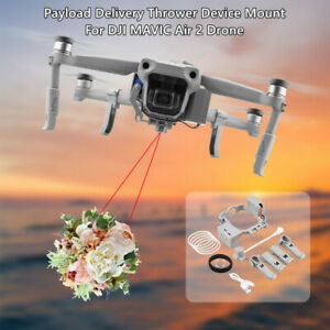 Payload Delivery Thrower Air Dropper Device Mount System For DJI MAVIC AIR 2 AU
