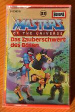Hörspielkassette MASTERS OF THE UNIVERSE 33 Das Zauberschwert des Bösen (Europa)