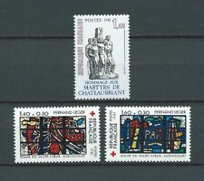 CROIX ROUGE - 1981 YT 2175 à 2176 + 2177 - TIMBRES NEUFS** MNH LUXE