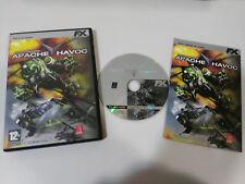 APACHE HAVOC ENEMY ENGAGED JUEGO PC CD-ROM ESPAÑOL FX INTERACTIVE EL MUNDO
