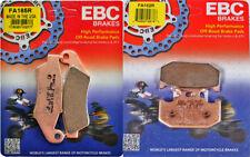 EBC R Front & Rear Brake Pad Set - Kawasaki KDX200, Suzuki DR650 _ FA185R|FA152R
