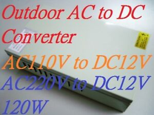 AC/DC Universal Inverter Converter 110V 220V to 12V 10A Power Supply