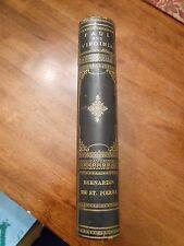 """Paul and Virginia"" by Bernardin De St. Pierre. English ed 1879. Nice leather"