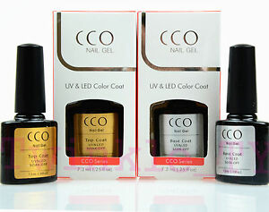 CCO UV LED Gel Package Deal Top or/and Base Coat for Any Brand UV NAIL Colours