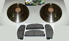 FIAT X19 X1/9 Lancia Set Rear Brake Discs & Rear Pads