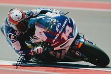 Randy De Puniet MotoGP Hand Signed Power Electronics Aspar ART Photo 12x8 2013.