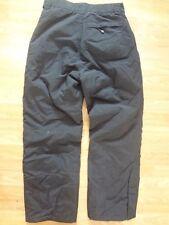 Snow Ski Board Insulated Black Pants Mens Size S Polar Edge