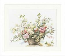 Lanarte Flowers & Plants Cross Stitch Kits