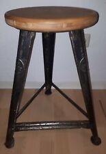 Industriehocker  ROWAC  CHEMNITZ   Bauhaus , Art Deco , Industrie Design