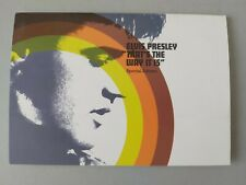 ELVIS PRESLEY THAT'S THE WAY IT IS ORIGINAL UK SALES PRESENTER FROM 2000