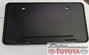 OEM TOYOTA SIENNA FRONT LICENSE PLATE HOLDER 75101-AE010 FITS 2005-2010