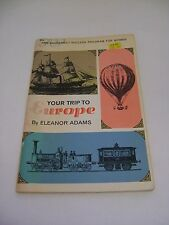 Vintage Book Your Trip To Europe 1969 Amy Vanderbilt Success Program For Women