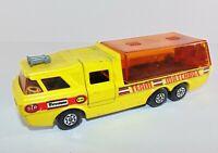 MATCHBOX SUPERKINGS K-7 Racing Car Transporter 1972 Model / USED - T05