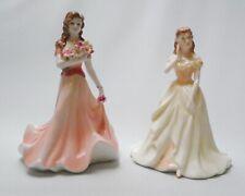 Coalport Debutante Lauren and Summer Bouquet - Made in England