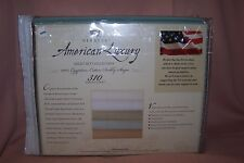 American Luxury Twin Extra Long 3 Piece Sheet Set NEW in Pack 310 Thread Count