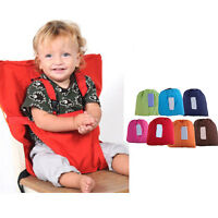 Portable Baby Seat Child High Chair Infant Feeding Seat Belt Seat High Stool