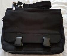 BLACK LAPTOP NOTEBOOK BAG CARRY CASE