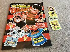 1989 The Magic of The Beano sticker album, around 40 stuck in & 8 loose stickers