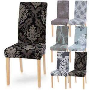 Universal Chair Covers Elastic Dining Kitchen Chair Protective Cover Slipcover'