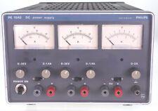 Philips PE1542 / 60 Labornetzteil Netzteil Netzgerät 2x 0-32 Volt 5 Volt geprüft