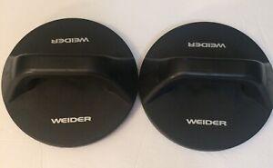 Weider Pushup Fitness Rotating Handles Black