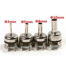 Nozzles 3/5/8/10mm For 852D 8508D Soldering Iron Station Heat Gun Hot Air Rework