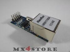 mini Ethernet Adapter Shield Modul RJ45 LAN ENC28J60 3,3V                Arduino