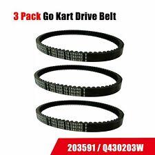 3pcs Go Kart Belt 30 Series Replaces Comet Manco Yerf Dog 203591 Q43203W