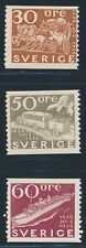 SWEDEN 1936, Mi.227-37 A-B * MINT HINGED, FINE
