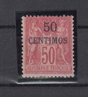 Bi6188/ FRENCH MOROCCO – Y&T # 6 MINT MH – CV 130 $