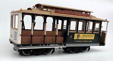 Accucraft / AMS AM66-014 - San Francisco Cable Car #9, dark green, 1:24 scale