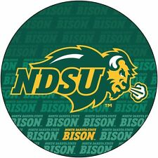 "NORTH DAKOTA STATE BISON 4"" REPEAT DESIGN DECAL-NDSU DECAL STICKER-NEW FOR 2016!"