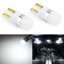 JDM ASTAR 2x White T10 Interior Map Dome Marker License Trunk Lights LED Bulbs
