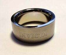 INVICTA 2531S Stainless Steel Unisex Ring Size 5 Small MSRP $315