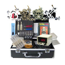 All Tattooing Equipment 4 high tattoo machine lcd Power kits new beauty body art