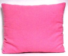 Toddler Pillow on Solid Pink Flannel Fp25 New Handmade