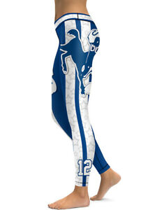 Indianapolis Colts Leggings Small-XXL (0-14) Football Fan Gift Game Gear Indy