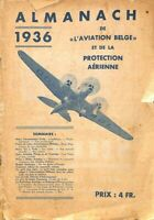 Almanach de l'aviation belge et de la protection aérienne 1936 - Ebook
