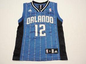 Dwight Howard Orlando Magic Adidas Blue NBA Jersey Size Boy Small (8) #12