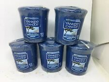 Yankee Candle 5x Mediterranean Breeze 49g Votives USA EXCLUSIVE VERY RARE