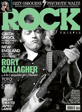 New!!! rory gallagher ozzy osbourne this is rock magazine issue 189 march 2020