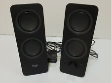 Logi Z207 / S-00168 Bluetooth Stereo Computer Speakers - Logitech Tested/Working