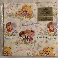 Hugga Bunch Wrapping Paper Gift Wrap Impkins Hugsy Huggins Hallmark 8.5 Sq Ft