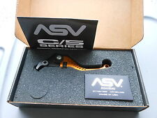 New 06-07 Yamaha R1 R6 YZF R1 YZF R6S ASV C5 Shorty Gold Brake Lever BRC521-SG