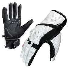 Blade® Summer Motorcycle Gloves Motorbike Knuckle Protection Best Leather