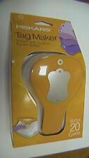Fiskars Tag Maker Punch With Built-in Eyelet Setter BRAND NEW